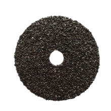 Silicon carbide fiber sanding disc
