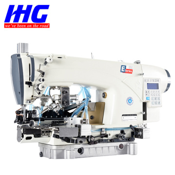 IH-639DS-LS คอมพิวเตอร์ Chainstitch Hemming Machine