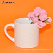 Sunmeta manufacturer supply 6oz sublimation coated white ceramic coffee mug