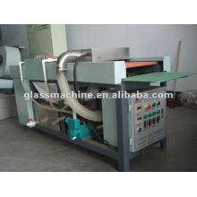 Máquina de lavar YZZT-X500 rolo vermelho vidro horizontal
