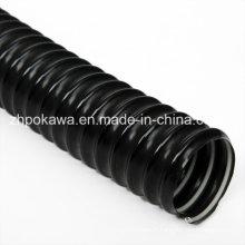 Tuyau flexible en PVC couleur noir avec hélice en acier