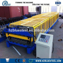 Roofing Sheet double layer roll forming machine prices, metal sheet double deck roof machine