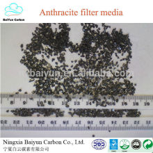 competitive anthracite price F.C 75-85% water treatment filter media anthracite coal for filters