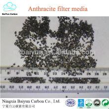 preço competitivo de antracite FC 75-85% tratamento de água filtro de metais carvão antracite para filtros