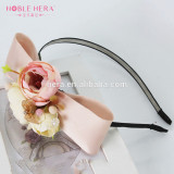 Natural Beauty Yiwu Hair Accessories Flower Hair Band with Bow 417G