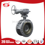 Stainless Steel Threaded Three Way Electric Actuator Powder Butterfly Valve DN200 Butterfly Valve With Pull Hand