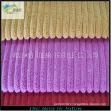 2.5W Polyester Nylon Blended Corduroy Fabric