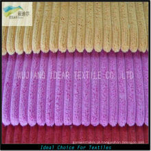 2.5 w Nylon poliéster misturado tecido de veludo