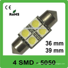 36mm39mm festoon 12V car bulbs led for car