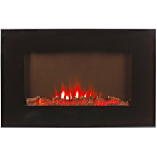 Electric Wall Hung Fireplace, with LED Flame