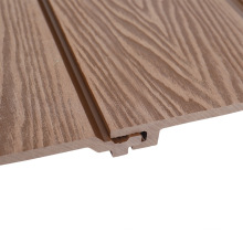 3D Deep Wood Grain Embossing WPC Board Exterior Outside Siding Waterproof Mildew Proof Composit Wall Panel Decoration Cladding