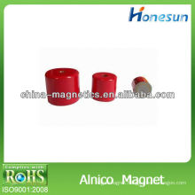 strong round alnico5 magnet for education using