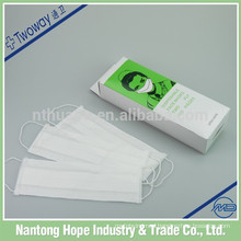 100pcs packing medical disposable paper face mask