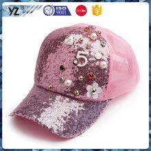 Fábrica Popular exclusivo design personalizado 5 chapéus do camionista do painel na venda