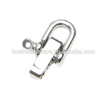 Fashion High Quality Metal Stainless Steel Shackle For Survival Paracord Bracelet
