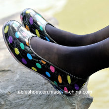 Мода дамы плоские ботинки пятки