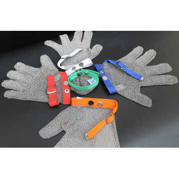 5 cut resistant stainless steel mesh glove
