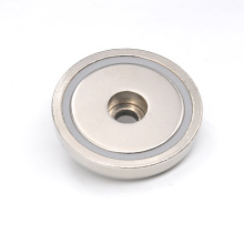 RPM-B75 Pot Magnet Round Base