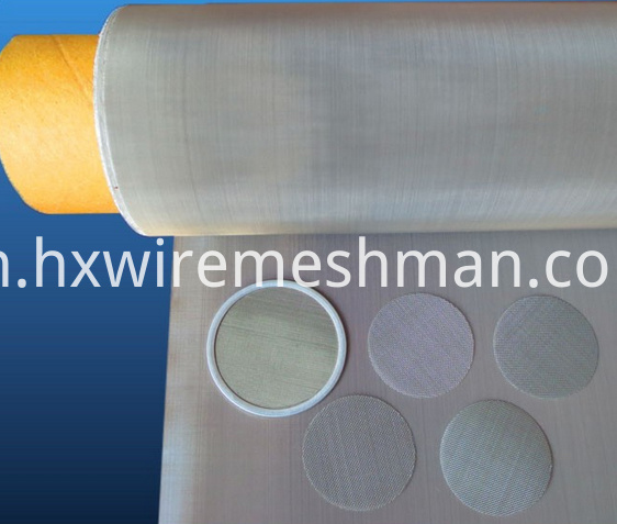 woven wire mesh filter