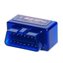 Mini Elm327 Bluetooth Interfaz OBD2 V2.1 coche herramienta de diagnóstico