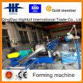 Machine à formage de rouleaux de gouttière en acier galvanisé
