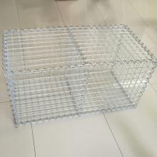 Galvanized welded gabion mesh box stone cage
