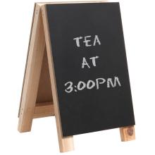 Mini 8 inch Tabletop Wooden Easel Chalkboard Sign