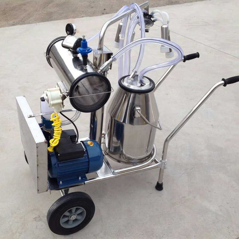 Vacuum Pump typed Milking Machine