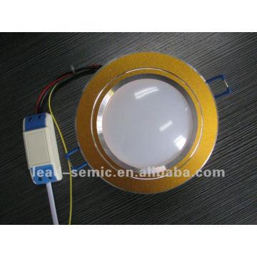 Nouveau design! Plafonnier à LED 24SMD2835 12W Housse givrée