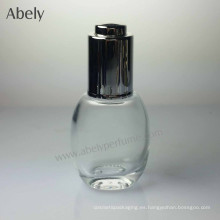 35ml botella de aceite de cristal portátil linda elegante