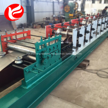 Automatic steel door frame roll forming machine