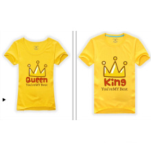 2014 New Custom Couple Organic Cotton T Shirt
