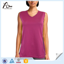 Großhandel V-Neck Tank Top Frauen Gym Wear
