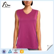 Wholesale V-Neck Tank Top Women Gym Wear