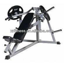 Commercial gym equipment/ Incline Bench