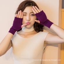 2017 winter dame mode warme kaschmir benutzerdefinierte stricken mittens