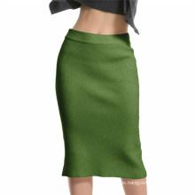 Ladies Middle Knitting Shirt Bunte neue Design Factory Puyuan Jiaxing