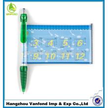 pena da bandeira publicidade caneta esferográfica logotipo impresso canetas puxe bandeiras