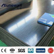 Alunewall Factory price PVDF B1/ A2 Fireproof ACP aluminum composite panel