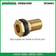 Raccord de tuyau d'arrosage de joint de fil de laiton d'OEM et d'ODM (AV-BF-7034)