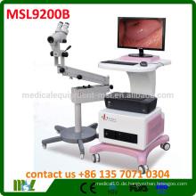 MSL-9200B Optical Colposcope Günstige Digital Gynäkologie Video Colposcope zum Verkauf