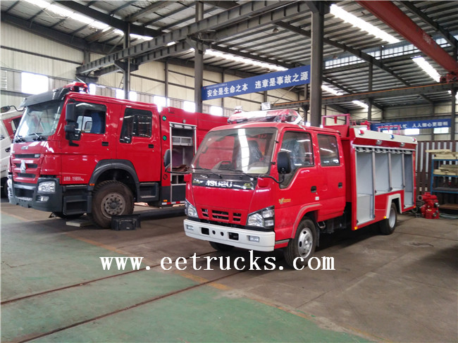 ISUZU Water Tower Fire Trucks