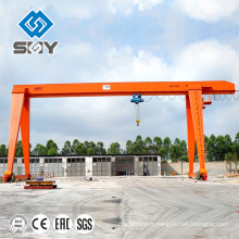 Grue électrique de grue de portique de 2 tonnes une grue de cadre