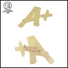 Letter A Plus metal pin badge