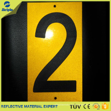 Reflective Numbers Stickers