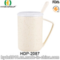 2016 Hot Sales Ceramic Coffee Mug with Lid and Spoon for Promotion Gift (HDP-2087)