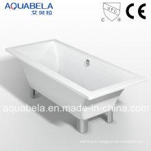 Baignoire classique à double extrémité de salle de bain royale avec clawfoot (JL620)