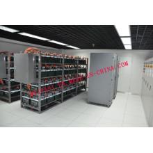 Baterias Moldura de aço Serviço personalizado Suportes de montagem de bateria Rack de carga de rack de bateria