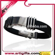 Regalos promocionales pulsera de metal en blanco para la sublimación