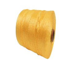 100% raw material China Yellow polypropylene yarn